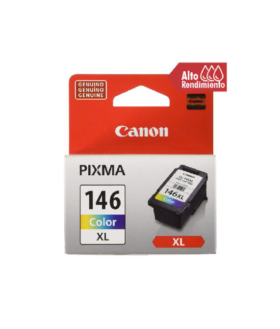 Canon CL-146XL  - 13 ml  - Alto rendimiento  - color (cian, magenta, amarillo)